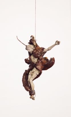 2006   30 x 20 x 10 cm  fleisch / kunststoff